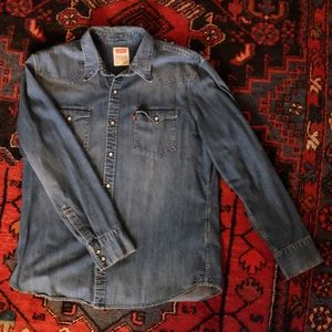 Levis Denim Western Shirt